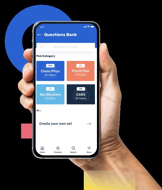 MCAT Prep App Question Bank