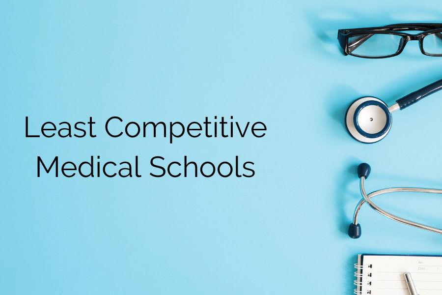 Least Competitive Medical Schools