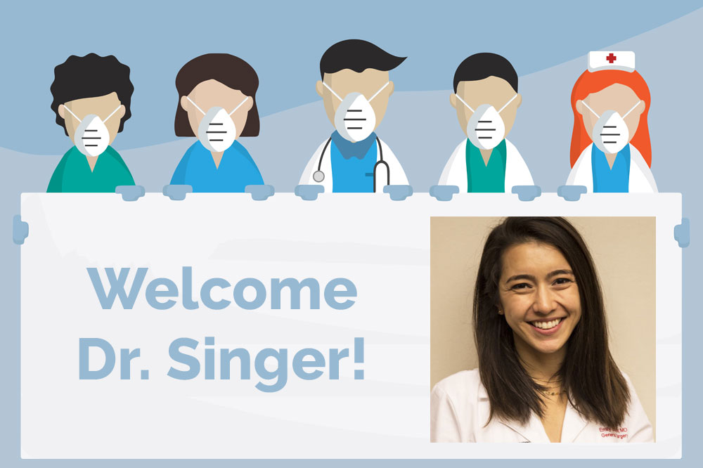 Welcome Dr. Emily Singer