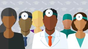 diverse doctors clipart