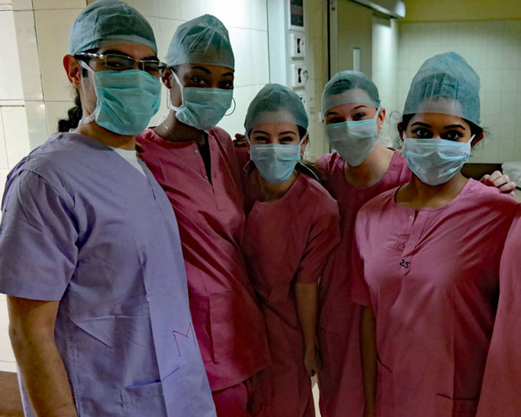 Ultimate Med Immersion – Patients in Scrubs at the Hospital