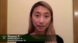 MedSchoolCoach video Shanna Y review
