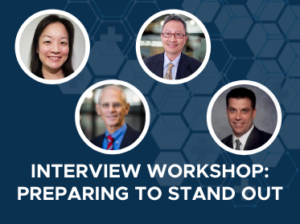 Interview Workshop Preparing to Stand Out - September 9