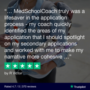 MedSchoolCoach - Secondary Application Review