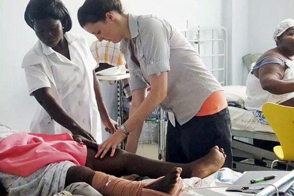 Ghana patient